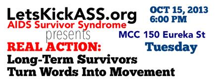 LetsKickASS.org REAL ACTION: LONG-TERM SURVIVORS TURN...