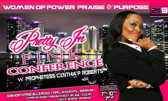 PRETTY IN PINK LADIES CONFERENCE 2013
