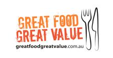 Great Food Great Value logo