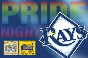 Pride Night at the Rays