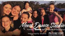 Moves Dance Studio                 Formerly MMMM Dance logo