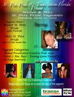 Mister and Miss St. Pete Pride Pageant - REGISTRATION