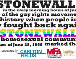 Stonewall Commemorative Reception