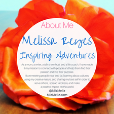 Melissa Reyes, Author, Certified Life Coach and Blogger logo
