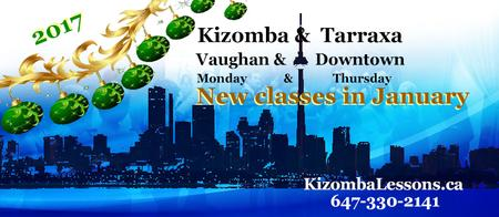 Kizomba Lessons Vaughan, Richmond Hill, Maple, Thorn...