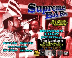 Supreme BARs: Martin Luther King Jr. Day