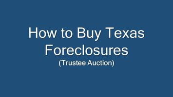 How to Buy Texas Foreclosures **Online**