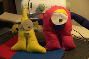 Sew Your Own Plushie! @ the Columbus Mini Maker Faire