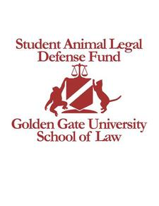 Golden Gate University School of Law SALDF logo