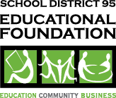 District 95 Educational Foundation logo