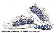 In Jacob's Shoes logo