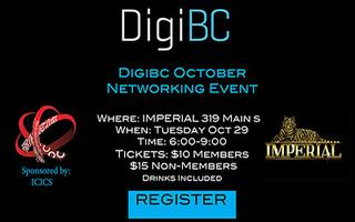 DigiBC October Networking Event