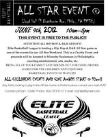 Elite Basketball Hip Hop & RnB Event (FREE Charity...