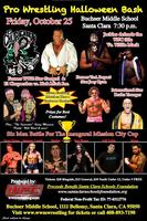 Halloween Monster Bash Pro Wrestling Fundraiser