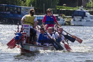 Nottingham Riverside Festival Dragon Boat Challenge