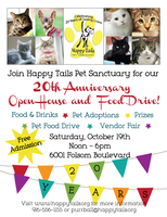 20th Anniversary Open House & Food Drive