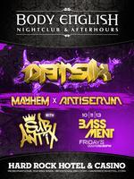 Bassment Fridays: Datsik @ Body English Nightclub