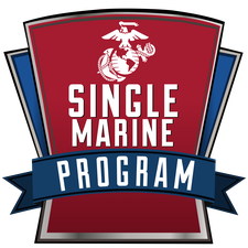 MCCS Quantico: Single Marine Program (SMP) logo