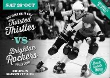Auld Reekie Roller Girls Twisted Thistles v Brighton Ro...