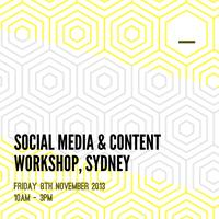 Social Media & Content Planning Workshop