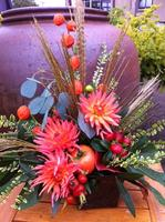 Fall Harvest Arrangements Class