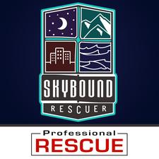 SkyBound Rescuer / Professional Rescue logo