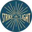 Strike a Light - Arts & Heritage logo