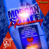 Morgan Homecoming 10.5.13 @SelectLounge 2 Hour Open Bar