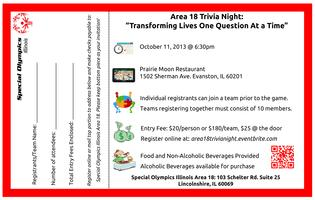 Area 18 Trivia Night