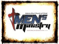 Adams Blvd Church of Christ Men's Ministry logo