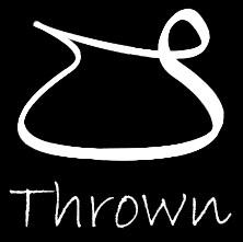 Thrown Pottery Supply and Studio logo