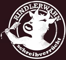 RINDLERWAHN-schreibverrückt logo