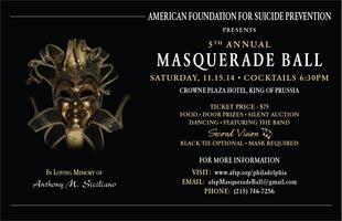 The American Foundation for Suicide Prevention Masquera...