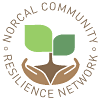 NorCal Community Resilience Network and X-Pollinators logo
