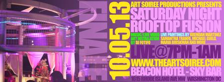 SEASON FINALE - Saturday Night Rooftop Fusion by Art...