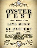 Oysterfest at The Lansdowne Pub