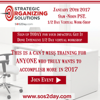 1/2 Day Virtual Intensive Workshop - Take Action --...