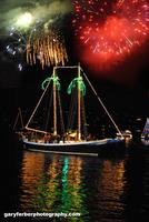 SF Bay Sausalito Lighted Boat Parade Sail