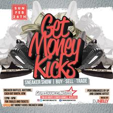 Get Money Kicks Sneaker Show logo