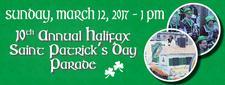 Halifax St. Patrick's Day Parade Society & The Charitable Irish Society of Halifax logo