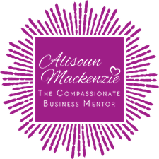 Alisoun Mackenzie, The Compassionate Business Mentor logo