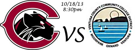 Chapman Univeristy V.S. Ventura CC at KHS 10/18 8:30pm