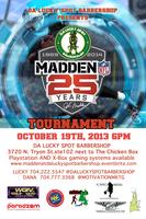 Madden At Da Lucky Spot Barbershop