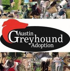 Austin Greyhound Adoption logo