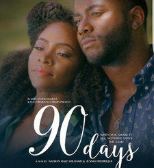 90 Days The Film by Nathan Hale Williams & Jennia Fredrique Aponte logo
