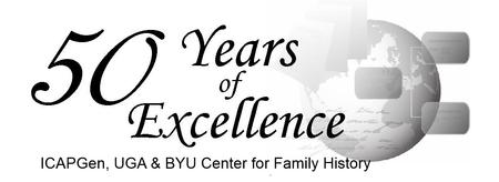50 Years of Excellence -  Family History Conference