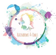 Rainbows and Owls - Occupational Therapy - Wellbeing - Art logo