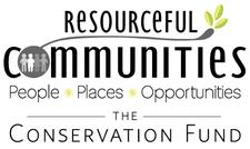 The Conservation Fund's Resourceful Communities Program.   logo