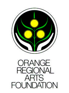 Orange Regional Arts Foundation  logo