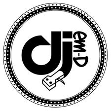 DJ em-D Events logo